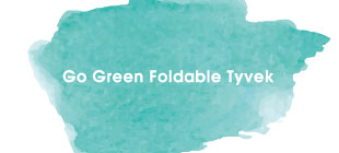 Go Green Foldable Tyvek