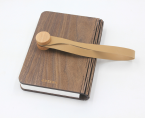 Book lamp in wood cover 1